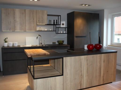 Küche in Farbe